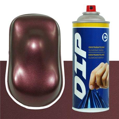 DIP spray bordó metál