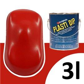 Plasti Dip UV 3L piros