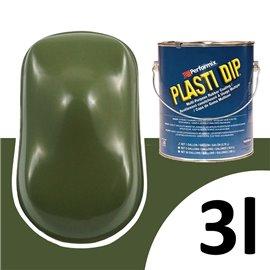 Plasti Dip UV 3L katonai zöld