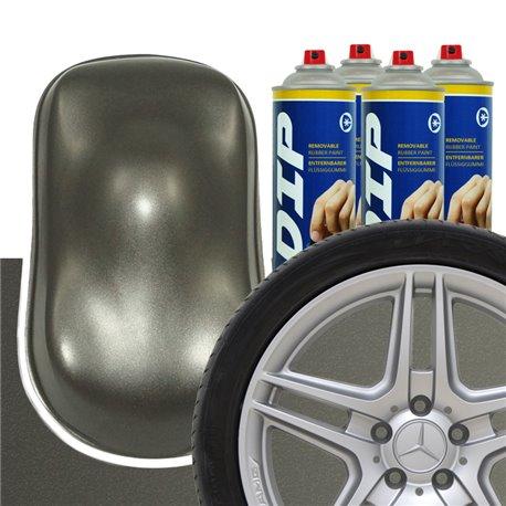 DIP szettek keréktárcsára antracit metál