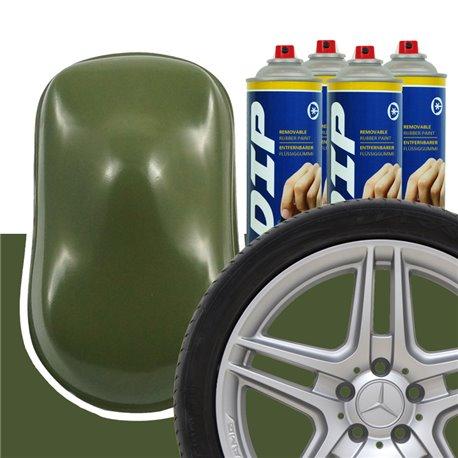 DIP szettek keréktárcsára katonai zöld