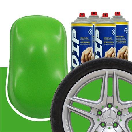 DIP szettek keréktárcsára lime zöld
