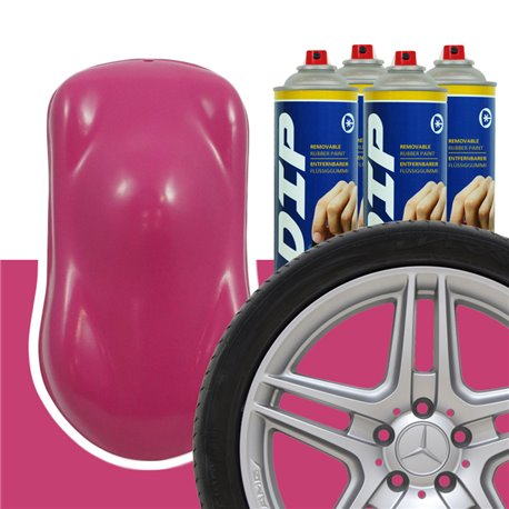 DIP szettek keréktárcsára rózsaszín