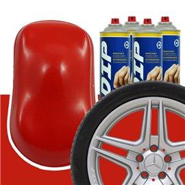 DIP szettek keréktárcsára piros
