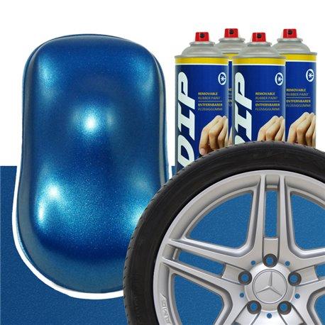 DIP szettek keréktárcsára kék metál
