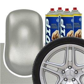 DIP szettek keréktárcsára ezüst metál