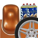 DIP szettek keréktárcsára réz metál