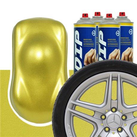 DIP szettek keréktárcsára Aranysárga metál