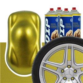 DIP szettek keréktárcsára Aranyszínu metál