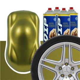 DIP szettek keréktárcsára Olíva arany metál