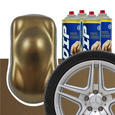 DIP szettek keréktárcsára bronz barna metál