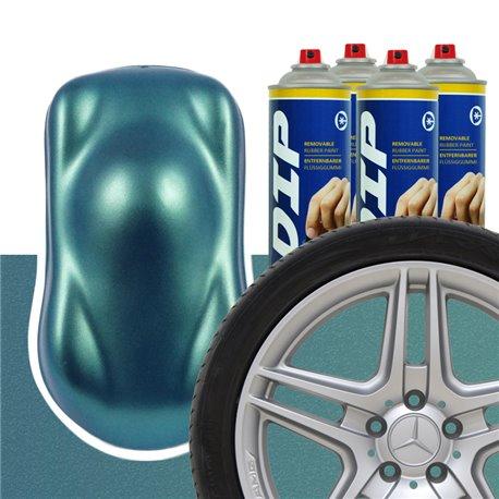 DIP szettek keréktárcsára Zöldeskék metál