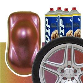 DIP szettek keréktárcsára kaméleon lila/piros/narancssárga/sárga