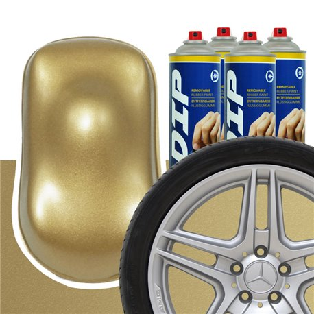 DIP szettek keréktárcsára Régi arany metál