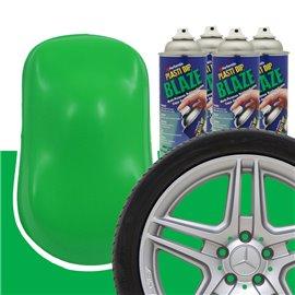Plasti Dip szettek keréktárcsára blaze zöld