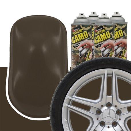 Plasti Dip szettek keréktárcsára camo barna