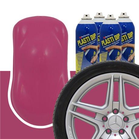Plasti Dip szettek keréktárcsára rózsaszín