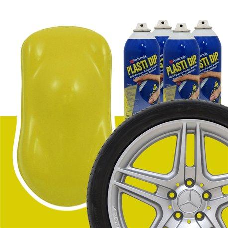 Plasti Dip szettek keréktárcsára sárga