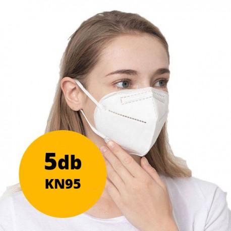 5x Védőmaszk KN95